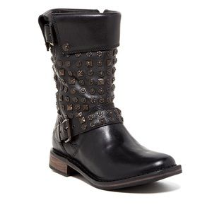 UGG | Conor Studded Black Leather Boots